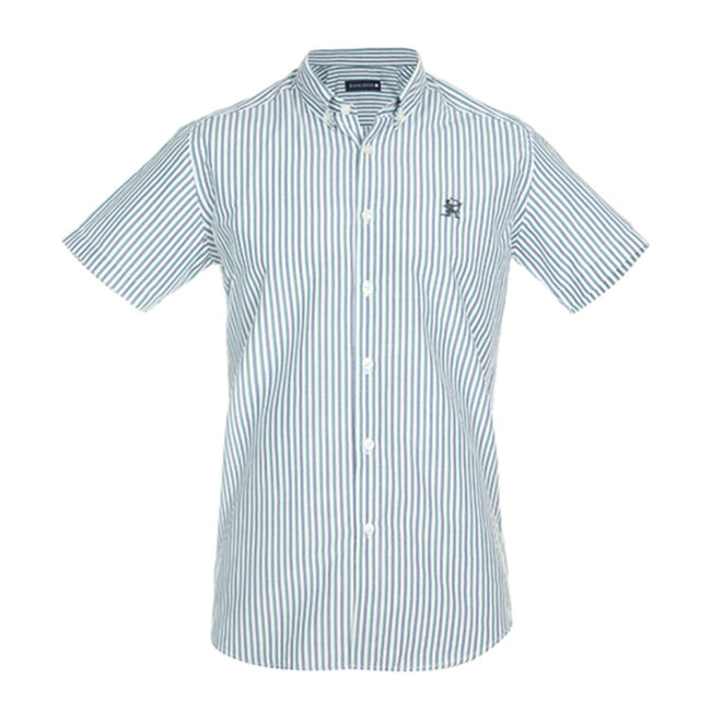 پیراهن مردانه آستین کوتاه راهراه