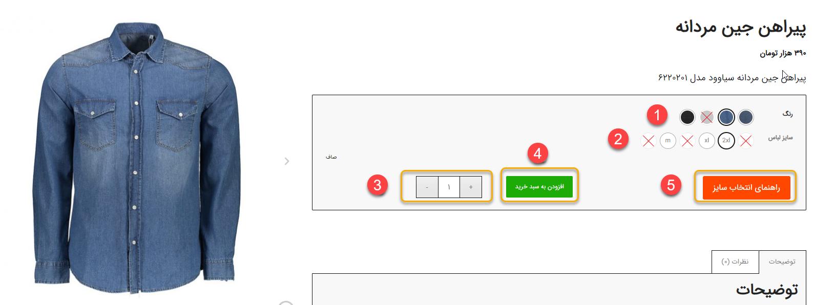راهنمای خرید آنلاین از سایت سیاوود