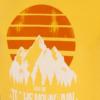 تیشرت چاپ کوه مردانه